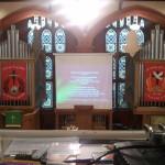 Inside Troqueer Parish Church, Dumfries